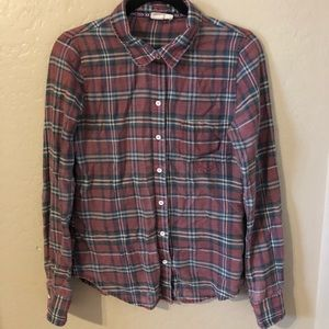 Roxy Red/Green/White Flannel
